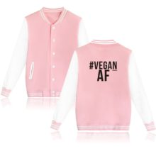 """# Vegan AF"" men's jacket / hoodie (4 colors)"